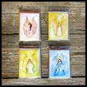 Kort med kuvert, Änglar, 4-pack