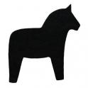 Grytunderlägg Häst Svart