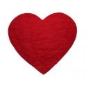 Grytunderlägg Hjärta Röd