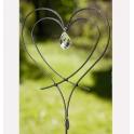 Trädgårdssmycke Kärlek Vi Två Liten Cesium