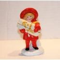 Figurin Flicka med paket